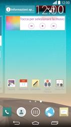 LG G3 - Operazioni iniziali - Installazione di widget e applicazioni nella schermata iniziale - Fase 9