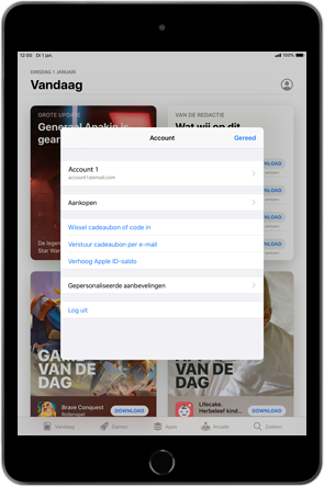 Apple iPad mini 4 - iPadOS 13 - Apps - apps updaten - Stap 6