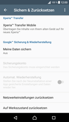Sony F3111 Xperia XA - Fehlerbehebung - Handy zurücksetzen - Schritt 7