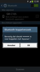 Samsung C105 Galaxy S IV Zoom LTE - Bluetooth - Headset, carkit verbinding - Stap 7