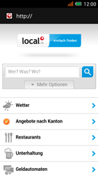 Alcatel One Touch Idol Mini - Internet und Datenroaming - Verwenden des Internets - Schritt 14