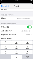 Apple iPhone 7 - iOS 13 - E-mail - Configuration manuelle - Étape 23