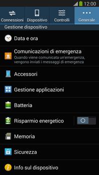 Samsung Galaxy Note III LTE - Software - Installazione degli aggiornamenti software - Fase 6