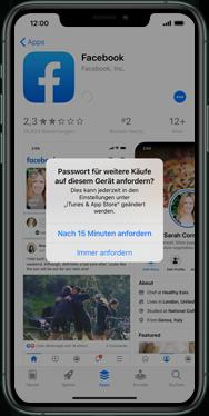 Apple iPhone XS - iOS 13 - Apps - Einrichten des App Stores - Schritt 26