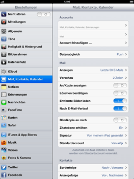 Apple iPad 4 - E-Mail - Konto einrichten - Schritt 14
