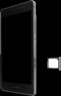 Huawei Ascend P7 - SIM-Karte - Einlegen - 0 / 0