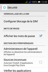 Alcatel Pixi 3 Dual Sim - Sécuriser votre mobile - Personnaliser le code PIN de votre carte SIM - Étape 5