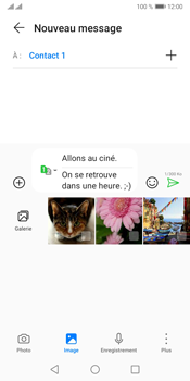 Huawei Y5P - Contact, Appels, SMS/MMS - Envoyer un MMS - Étape 15