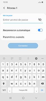 Samsung Galaxy A20e - Wifi - configuration manuelle - Étape 7