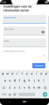 Nokia 5-1-plus-dual-sim-ta-1105-android-pie - E-mail - Account instellen (POP3 zonder SMTP-verificatie) - Stap 13