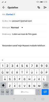 Huawei p20-dual-sim-model-eml-l29-android-pie - E-mail - Bericht met attachment versturen - Stap 8