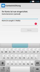 Alcatel One Touch Idol S - E-Mail - Manuelle Konfiguration - Schritt 23