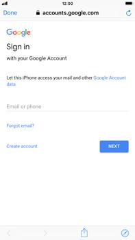 Apple iPhone 8 Plus - iOS 12 - E-mail - Manual configuration (gmail) - Step 6