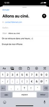 Apple iPhone 11 - E-mail - envoyer un e-mail - Étape 7