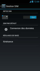 Acer Liquid Z5 - Internet - activer ou désactiver - Étape 5