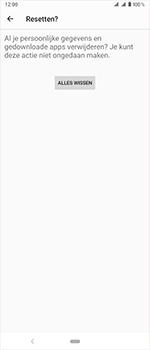 Sony Xperia 1 - Toestel reset - terugzetten naar fabrieksinstellingen - Stap 9