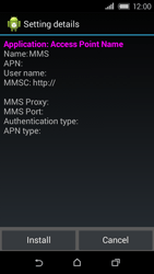 HTC Desire 320 - MMS - Automatic configuration - Step 6