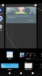 Sony Xperia XZ1 - Operazioni iniziali - Installazione di widget e applicazioni nella schermata iniziale - Fase 5