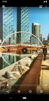 Google Pixel 3a - Photos, vidéos, musique - Créer une vidéo - Étape 18