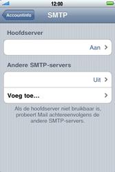 Apple iPhone 4 - E-mail - Handmatig instellen - Stap 14