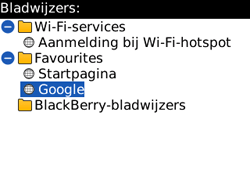 BlackBerry 8520 Curve - Internet - hoe te internetten - Stap 8