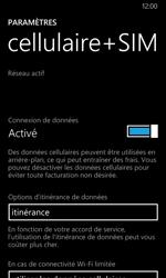 Nokia Lumia 635 - Internet et roaming de données - Désactivation du roaming de données - Étape 5