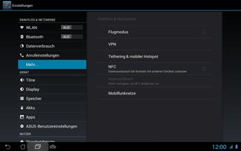 Asus Padfone 2 - Netzwerk - Netzwerkeinstellungen ändern - Schritt 6