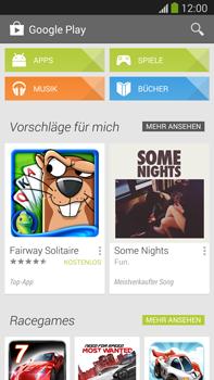 Samsung Galaxy Note III LTE - Apps - Einrichten des App Stores - Schritt 21