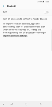 Samsung Galaxy Note 8 - Bluetooth - Connecting devices - Step 6