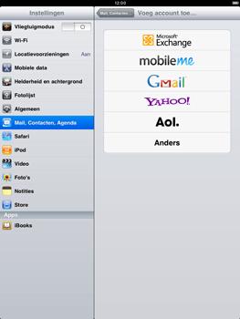 Apple iPad 2 - E-mail - e-mail instellen: IMAP (aanbevolen) - Stap 4