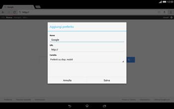Sony Xperia Tablet Z2 LTE - Internet e roaming dati - Uso di Internet - Fase 8