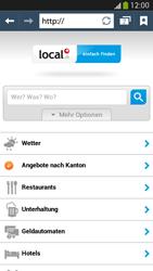 Samsung Galaxy S 4 Active - Internet und Datenroaming - Verwenden des Internets - Schritt 13