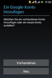 Sony Xperia Tipo Dual - Apps - Konto anlegen und einrichten - Schritt 4