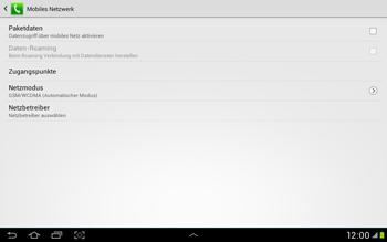 Samsung Galaxy Tab 2 10.1 - Internet und Datenroaming - Manuelle Konfiguration - Schritt 6