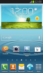 Samsung S7710 Galaxy Xcover 2 - Voicemail - Handmatig instellen - Stap 1