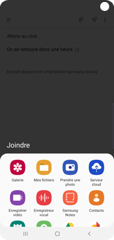 Samsung Galaxy S10 - E-mails - Envoyer un e-mail - Étape 13