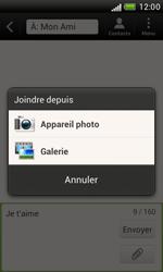 HTC T328e Desire X - MMS - envoi d'images - Étape 9