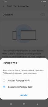 Samsung Galaxy A80 - Internet et connexion - Partager votre connexion en Wi-Fi - Étape 7