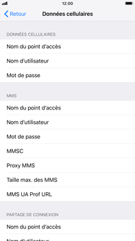 Apple iPhone 7 Plus - iOS 12 - Internet - configuration manuelle - Étape 8