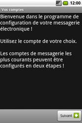 Samsung I7500 Galaxy - E-mail - Configuration manuelle - Étape 4