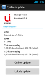 Huawei Ascend Y300 - software - update installeren zonder pc - stap 6