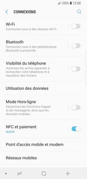 Samsung Galaxy S9 - Internet et roaming de données - Comment vérifier que la connexion des données est activée - Étape 5