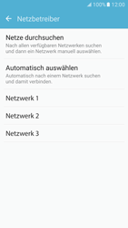 Samsung Galaxy S7 - Netzwerk - Manuelle Netzwerkwahl - Schritt 8