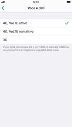 Apple iPhone SE (2020) - Rete - Come attivare la connessione di rete 4G - Fase 7