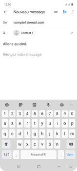 Samsung Galaxy A71 - E-mails - Envoyer un e-mail - Étape 9