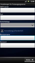 Sony Ericsson Xperia X10 - E-Mail - Konto einrichten - Schritt 13