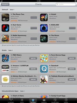 Apple iPad 3 - Apps - Herunterladen - Schritt 8