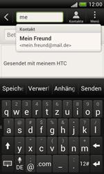 HTC Desire X - E-Mail - E-Mail versenden - 6 / 16