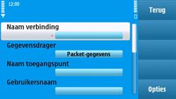 Nokia N97 - internet - handmatig instellen - stap 14