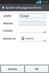LG E610 Optimus L5 - Internet - Navigation sur Internet - Étape 6